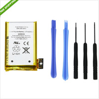 For iphone 3gs high quality battery replacement with tools for iphone 3g free shipping