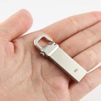 Metal mini usb drive 1gb 2gb 4gb 8gb 16gb 32gb usb flash disk gfit KEY USB Flash pen drive stick (Can print LOGO)