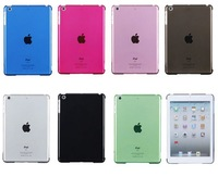 Free Shipping Transparent Simple Style Hard Case for iPad Mini