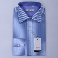 Free shipping 2013 spring men clothing long sleeve dress shirts designer fashion high quality 100% cotton formal shirt for man