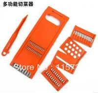 Multifunctional shredder grater slicer/ combine set