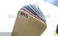 Newest 0.3mm Mesh Metal Ultra Thin Hard Case,Titanium Alloy Mesh Case For iphone 5 5G, Free Shipping