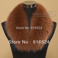 Free Shipping+Large Fur Collars Fox Fur Collar Han Lady Fox Fur Collar Fox Wool Scarf/and 18 Colors / 80CM