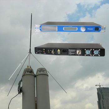 50W CZH-T501 PLL Professional FM Broadcast Radio Transmitter 1U  0W -50W continue adjustable + GP100 1/4 wave GP antenna KIT