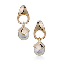 Golden/White 18K Gold Plated Earrings Jewelry Top Quality Great Austrian Crystal Earring Wholesale  1774173