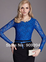 Free shipping Brand Moonbasa  Value three-in-one package of the fashion wild lace long-sleeved T-shirt, 469913106