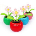 Solar Powered Flip Flap Sunflower Plant Desktop Toy(China (Mainland))