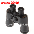 Free shipping!Baigish 20X50 Binocular Super Clear Telescope + Gleam Night Vision
