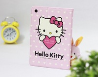 Hello Kitty Cute Leather Case Cover for Apple iPad mini, Free Shipping + Wholesale