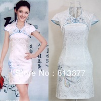 2013 chinese style traditional apparel formal dresses evening dress alibaba express celebrity cheongsam qipao free shipping 153
