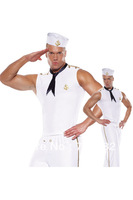 The lingerie dress uniform The navy suit Role play sailor suit nightclub performance Men's naval uniform clothing LB2532