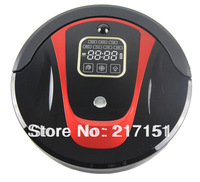 Free to Turkey! Virtual Wall, Remote Control and Docking Station LR-450B-Red Robot Cleaner