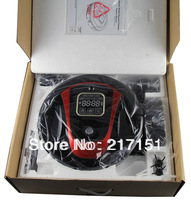 Free to Israel! Extremely Low Noise Remote Control Robot LR-450B-Red Robot Vacuum Cleaner