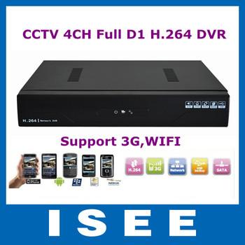 Big sale CCTV 4CH Full D1 H.264 DVR Standalone Super DVR SDVR HVR NVR Security System 1080P HDMI Output DVR Free Shipping