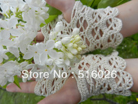 crochet wedding fingless glove, sexy women accessory, hand jewelry, Lace, Yoga, Romantic, Dance 2pair/lot