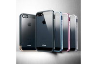 SPIGEN SGP Linear Metal Crystal series case for iphone 5 5g ,MOQ 1PCS + retail pacakge +1 Lower Part For iPhone 5