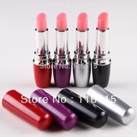 10ps/lot mix 4 color Lipstick Vibrators sex toys for woman,sexy vibrating lipstick clitoris pussy vibrator massager for femal
