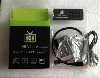 New Arrival Original Version Bluetooth MK808 Android Mini PC TV Box Dual Core Rockchip RK3066 1.6Ghz 1G RAM 8GB WiFiMedia Player