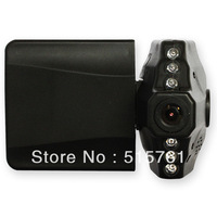 2.5 inch (P-02C.11) 270 degree Whirl LCD screen 90 degree wide angle lens sixlight IR night vision H198 car Cam
