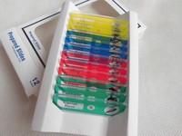 Various Plastic Prepared Microscope Slides 12 pcs Specimen in Box for Children Student Biological Microscopes free shipping