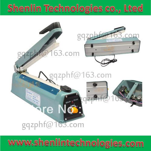 Handle impulse hot welding sealer bags sealing machine packaging capping tools equipment manual packer to aluminum and plastic(China (Mainland))