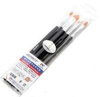 U-STAR Art Brush Kit UA-90024, 7 in 1, High Quality Marten Hair Painting Brushes
