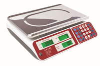 15kg High Precision Digital Scales Commercial Computing Price Platform Balance with Green Backlight LCD and AC-DC dual-use