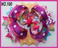 free shipping  30 pcs  Good Easter festival hair bows Girl Hair Bows clip  girl hair boutique hair bows