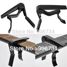 Высокое качество алюминиевого сплава новый черный быстрая смена ключа струбцины акустическая классическая гитара капо для тон регулировка(China (Mainland))