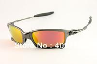 Designer X Metal Sunglass Men's/Women's Fashion X-squared OO6011-06 Grey Sunglass Fire Iridium Lens Polarized