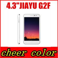 WCDMA 3G jiayu G2F phone MT6582 Quad Core Smart Phone Android 4.2 IPS Gorrila Screen Jiyu G2F White Black multiple Languages Hot