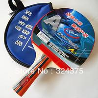 1 x APING Ping Pong Table Tennis Racket Paddle Bat With Waterproof Blue Bag