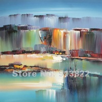 Free shipping Hand Painted Oil Paintings Impression Modern Art Home/Hotel Decor