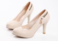 free shipping Fashion & sexy women's shoe,all-matching style,basic style, black and white color
