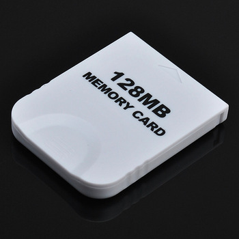 Freeshipping 128 M 128MB 2043 Blocks Memory Storage Card for Nintendo Wii GameCube Video Game