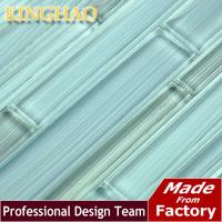 2014 Top Fashion Fireplace Pastilhas De Vidro Para Banheio Building Materials [kinghao] Supply Mosaic Wholesale Glass 8fl001