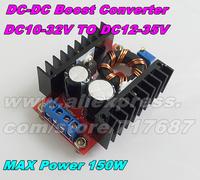 High Quality 150W DC-DC Step-Up 10-32V to 12-35V Converter DC12V To DC19V Boost Charger Power Converter Modules for Notbook Car