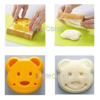Little Bear Shape Sandwich Bread Cake Mold Maker DIY Mold Cutter Craft  #30455