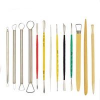 13 pieces clay sculpture tools art set school supplies sculpture tools art supplies free shipping promotional product