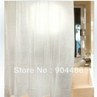 Free shipping Home Queen100%EVA 3D water cube print waterproof shower curtain!