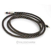 1pcs Hot Sale 1.5M Digital Optical Audio Lead Cable Plug SPDIF TosLink 80418