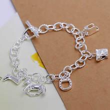 popular silver horse bracelet