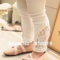 wholesale 2013  girls 3 color lace leggings free shipping ,10 pcs/lot,GXS103