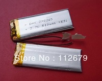 Size 392265 3.7V 610mah Lithium polymer Battery with Protection Board For MP4 GSP PSP Digital Products Free Shipping