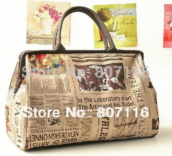 Retro Vintage Style Womens Handbag Tote Shoulder Bag large volume Drop shipping#928