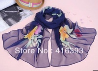 Mixed order $10 Free Shipping wholesale  New Fashion Women's Scarf Chiffon scarf, springsummer is prevented bask scarves