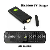 Bundle sale MK802III tv dongle RK3066 1.6GHz Cortex-A9 dual core HDMI+ RC11 Air Mouse