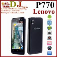 Free shipping original Lenovo P770 4.5inch IPS screen MTK6577 android 4.1.1 4GB ROM 1GB RAM 3500mAH Battery in stock