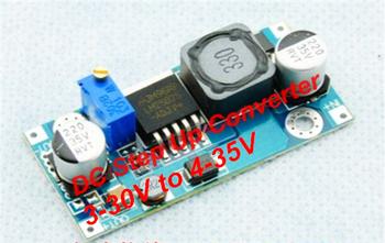 Free shipping DC-DC Step Up Converter 3-30V to 4-35V LM2587 Step-Up Voltage Adjustable DC Boost Converters