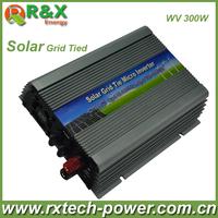 Grid-Tie 300W Pure Sine Wave Inverter DC22V~60V, AC 180-260V, 45Hz-53Hz/55Hz~63Hz, for Solar Input Power 400W, good quality